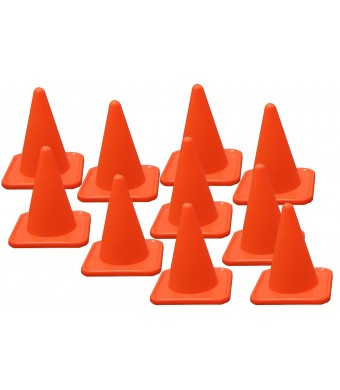 BlueDot Trading Agility Cones (20-Pack), 4-Inch