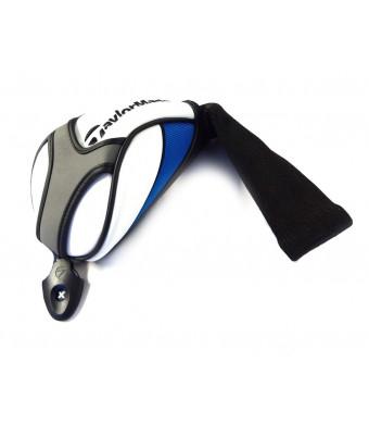 NEW TaylorMade Universal SLDR/JetSpeed White/Blue/Black Fairway Headcover