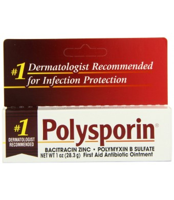 Polysporin First Aid Antibiotic Ointment 1-Ounce