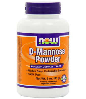Now Foods D-Mannose Powder, 3-Ounce