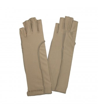 Totes Isotoner Therapeutic Open-Finger Gloves Size: Medium