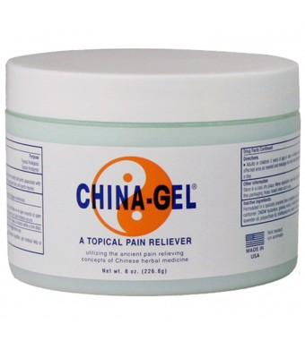 China Gel Topical Pain Reliever 8 oz Jar, Each