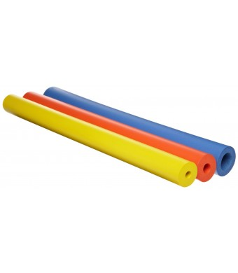 Ableware 766900181 Closed Cell Foam Tubing, Bright Color Assortment