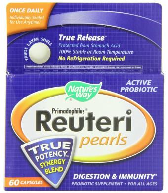 Nature's Way Primadophilus Reuteri Pearls, 60 Count