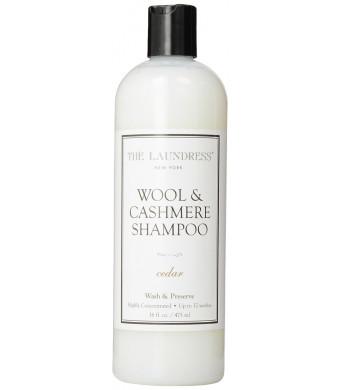 The Laundress Wool and Cashmere Shampoo, Cedar, 16 ounce