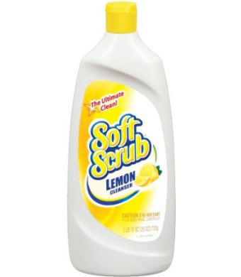 Soft Scrub Total All Purpose Bath and Kitchen Cleanser, 24 Ounce