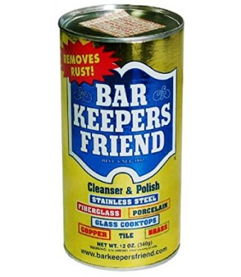 Bar Keepers Friend Cleanser and Polish: 12 OZ