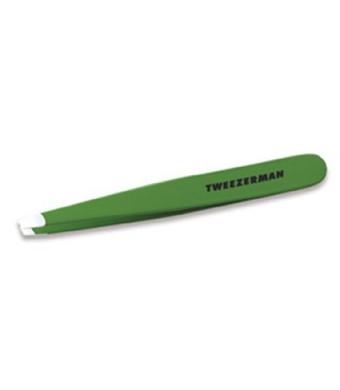 Tweezerman Slant Tweezer, Green Apple