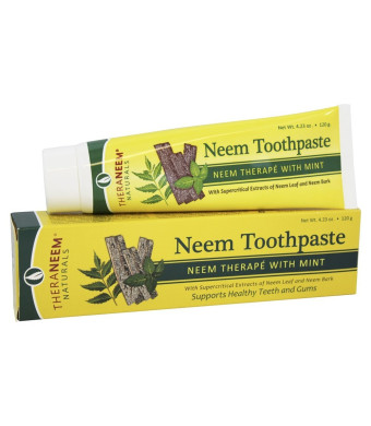 TheraNeem Mint Toothpaste - 4.23 oz - Paste