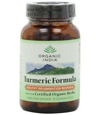 Organic India Turmeric, 90-Count