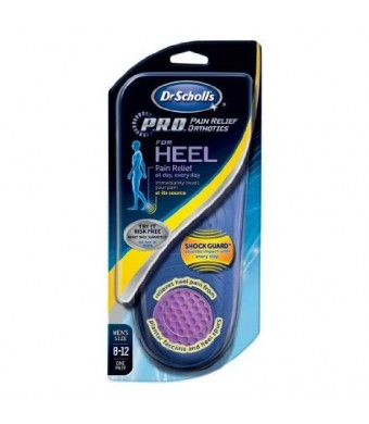 Dr Scholl's Pro Pain Relief Orthotics for Heel M (8-12)