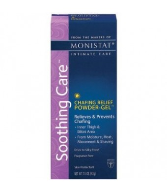 Monistat Soothing Care CTafing Relief Powder-Gel, 1.5-Ounce Tube