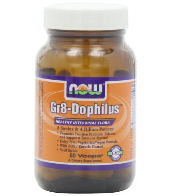 NOW Foods Gr 8 Dophilus Enteric Coated, 60 Vcaps