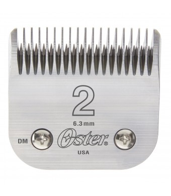 "Oster Professional 76918-126 Replacement Blade, Classic 76/Star-Teq/Power-Teq Clippers, Size #2, 1/4""  (6.3mm)"