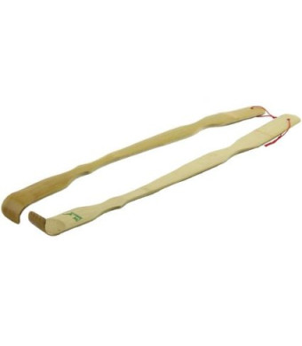 """2x 17""""  BambooMN Brand Bamboo Back Scratchers Backscratchers"""