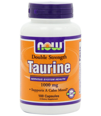 Now Foods Taurine 1000Mg, 100-Capsules