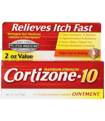 Cortizone Maximum Strength Ointment, 2 Ounce