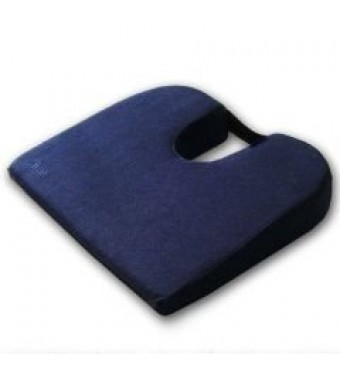 """Coccyx Cushion - Extra Firm - 15""""  x 14""""  x 3""""  to 1.5"""""""