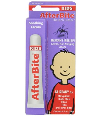 Tender AfterBite Kids the Itch Eraser, 0.7-Ounce Tubes (Pack of 12)