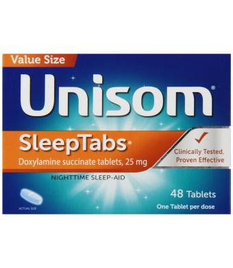 Unisom Sleep Tabs Tablets, 48-Count