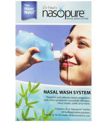 Nasopure System Kit, with 8 Ounce Bottle