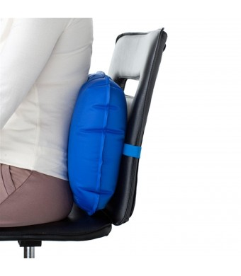 "Medic-Air Back Cushion 18""  x 15""  Blue"