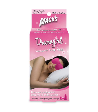 Macks Dreamgirl Contoured Sleep Mask