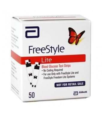 FREESTYLE LITE GLUCO TEST STRP Size: 50