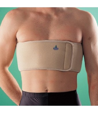 Oppo Medical Mens Elastic Rib Belt (Natural; One Size Fits Most)