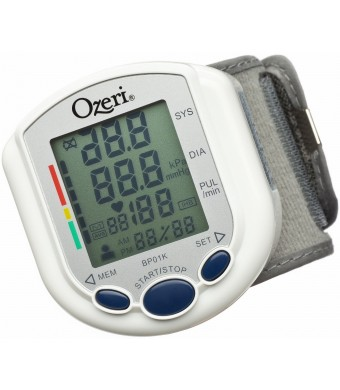 Ozeri BP01K CardioTech Pro Series Digital Blood Pressure Monitor with Heart Health and Hypertension Indicator