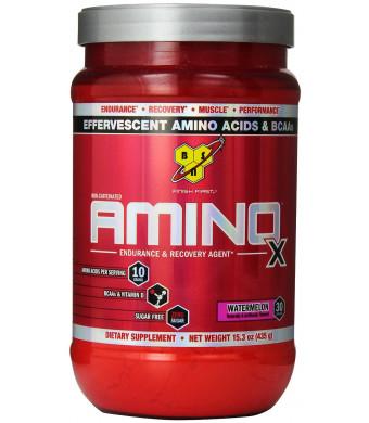 BSN AMINO X - Watermelon, 15.3 Ounce, 30 Servings