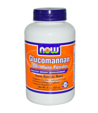 NOW Foods Glucomannan 100% Pure Powder - 8 oz.