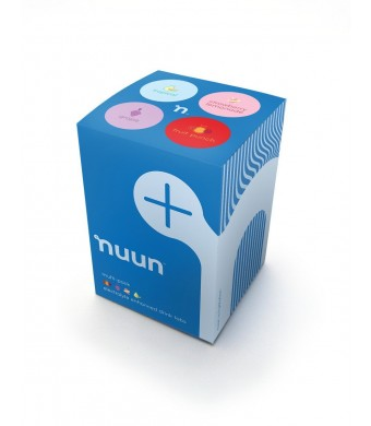 Nuun Active Hydration, Electrolyte Enhanced Drink Tablets, New Mixed Flavor 4-pack: Strawberry Lemonade, Fruit Punch, Grape, Tropical Fruit (4 Tubes/