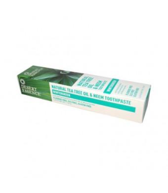 Desert Essence Toothpaste Tea Tree Neem-Wintergreen