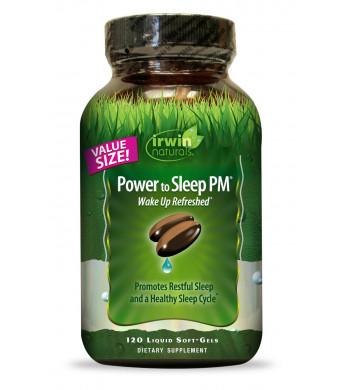 Irwin Naturals Power to Sleep Pm Economy Diet Supplement, 120 Count