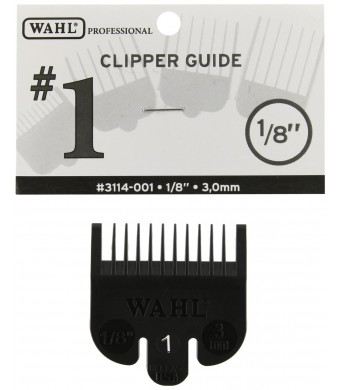 Wahl 1 Attachment Comb For Cuts, 1/8 Inch