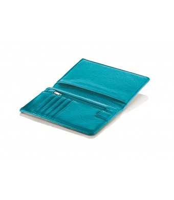 Travel Smart by Conair RFID-Blocking Passport Wallet, Teal