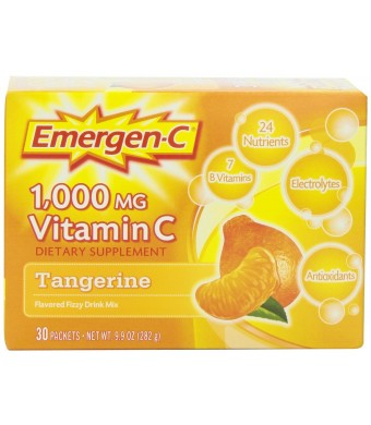Emergen-C, Tangerine, 30 Count