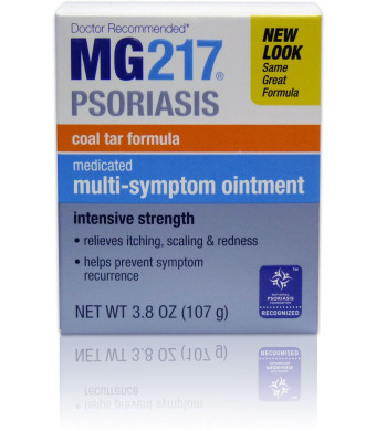 MG217 Psoriasis Medicated Conditioning Coal Tar Formula Multi-Symptom Ointment, 3.8 Ounce