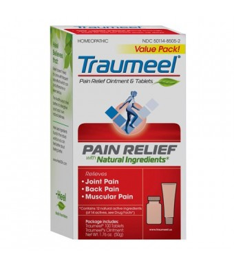 T-Relief Pain Value Pack Ointment and Tablets