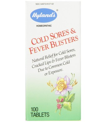 Hyland's Cold Sores and Fever Blisters, 100 Tablets