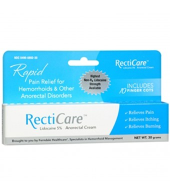 Recticare Anorectal Cream 1 Oz