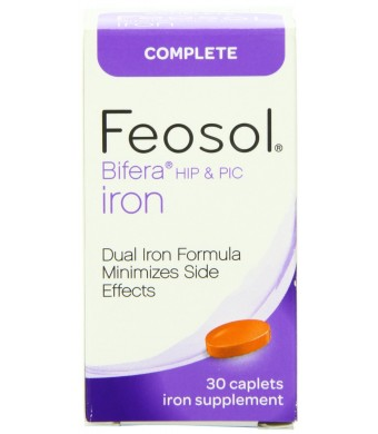Feosol Complete Iron, 30 Count