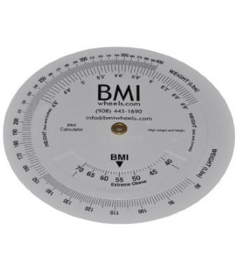 "BMI Wheel Calculator 4.25"" 80-400lbs 1 Pack (1 Piece)"