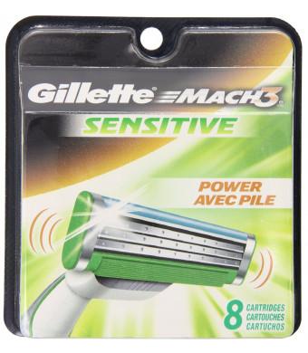 Gillette Mach3 Sensitive Cartridges 8 Count