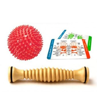 Body Back Company Foot Roller and Porcupine Massage Ball