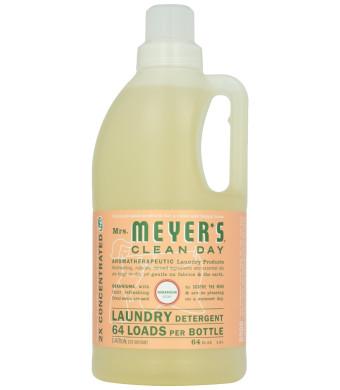 Mrs. Meyer's Clean Day Laundry Detergent-Geranium-64oz, 64 Loads
