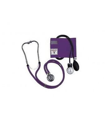 Grape Blood Pressure and Stethoscope Kit
