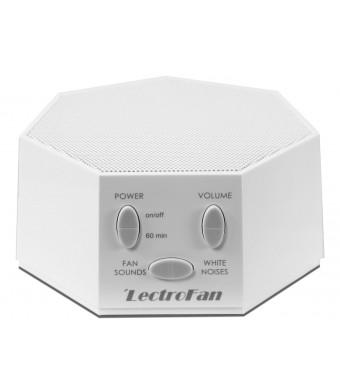 LectroFan - Fan Sound and White Noise Machine, White (FFP)