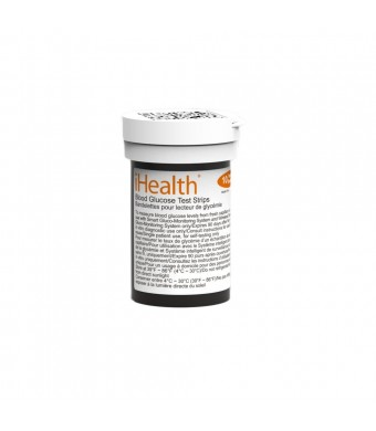 iHealth Blood Glucose Test Strips ( 50 Count)
